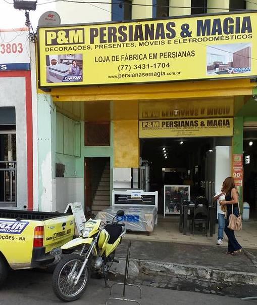 PERSIANAS E MAGIA - NOVA
